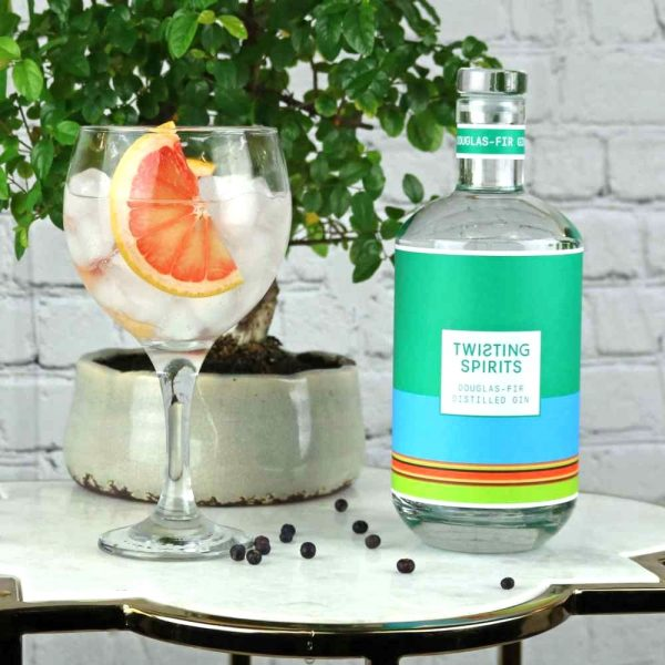 pine infused gin