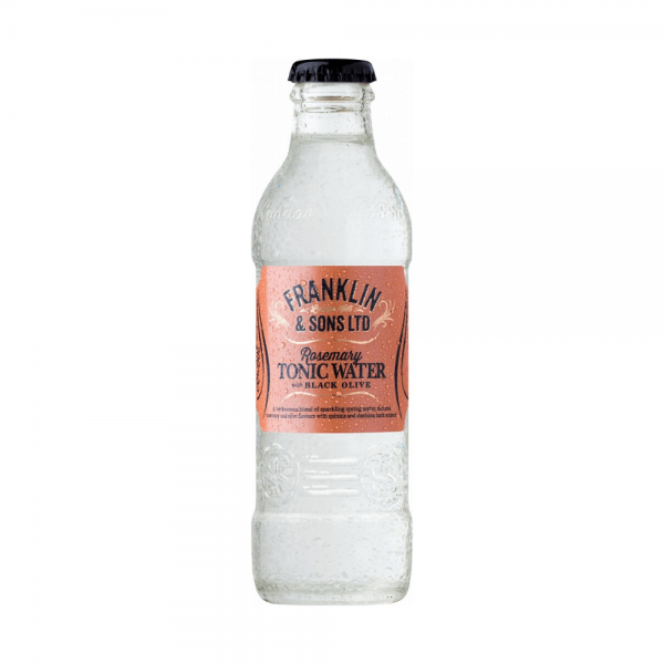 Franklin and Sons Rosemary and black olive Tonic