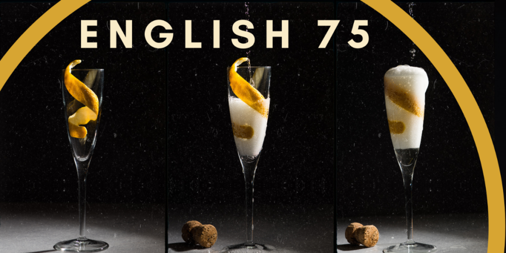 english 75 gin cocktail
