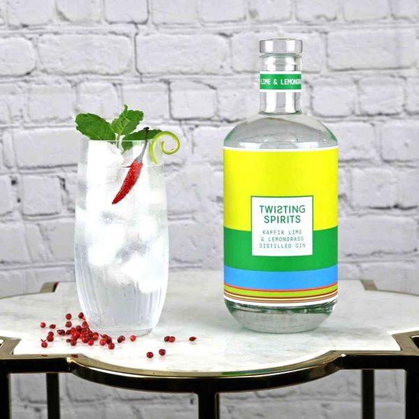 Lemongrass gin