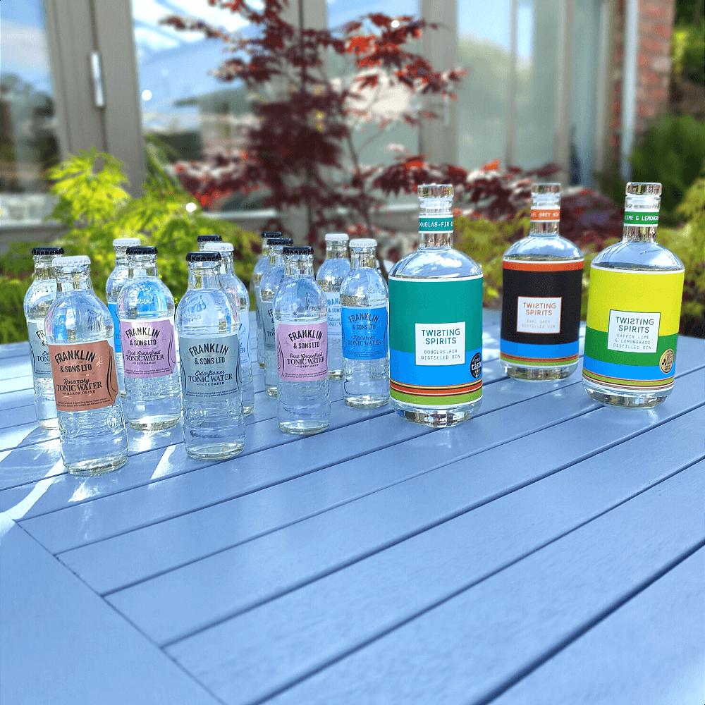 Twisting Spirits gin bundle