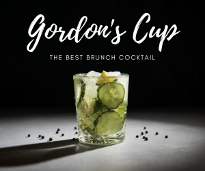 Gordons cup cocktail