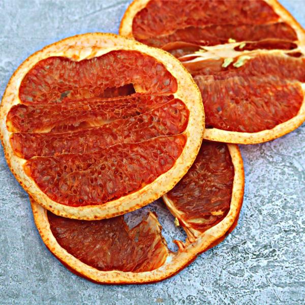 Grapefruit Garnish